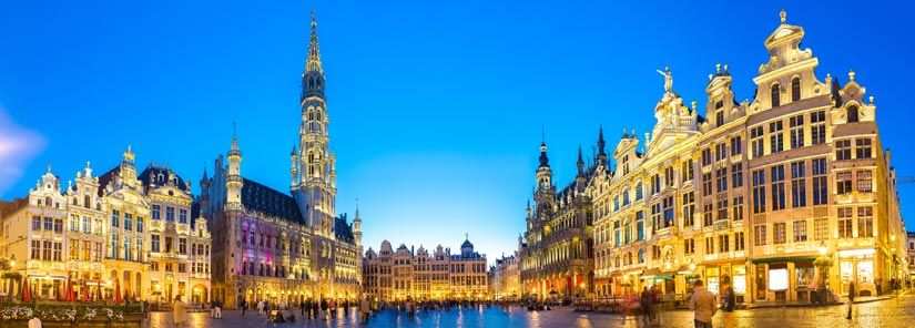 grand place brussel belgie